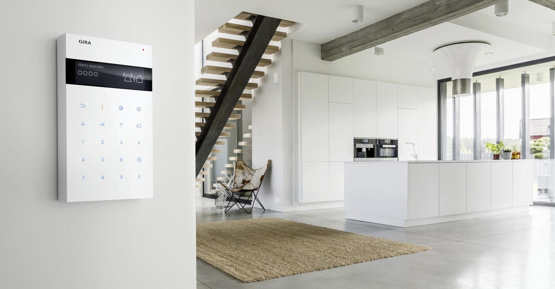 Moderne Wohnung mit smart-home